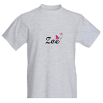 Logo Zoé pour tee shirt