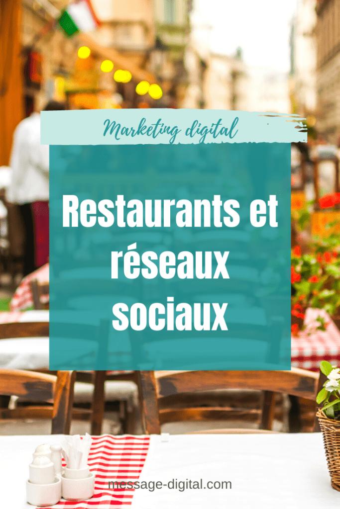 Restaurants et réseaux sociaux